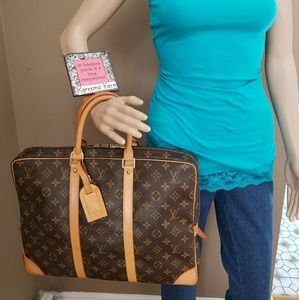 Louis Vuitton Porte Documents Laptop Bag